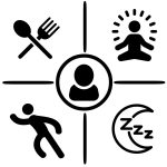 Leefstijl: voeding, slaap, ontspanning en beweging