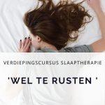 cursus slaaptherapie voor fysiotherapeuten